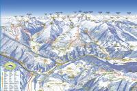 Gitschberg Jochtal - Valles / Maranza Mapa tras