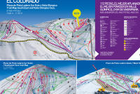 El Colorado Piste Map
