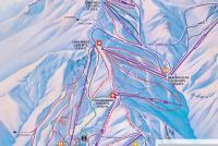 Valle Nevado Mapa tras