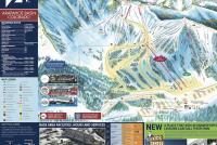 Arapahoe Basin Ski Area Piste Map
