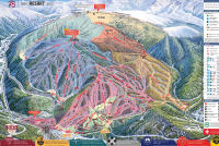 Winter Park Resort Plan des pistes