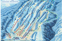 Mohawk Mountain Piste Map
