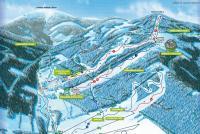 Dolní Morava - Ski Sněžník Trail Map