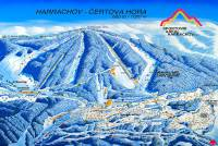 Harrachov Plan des pistes