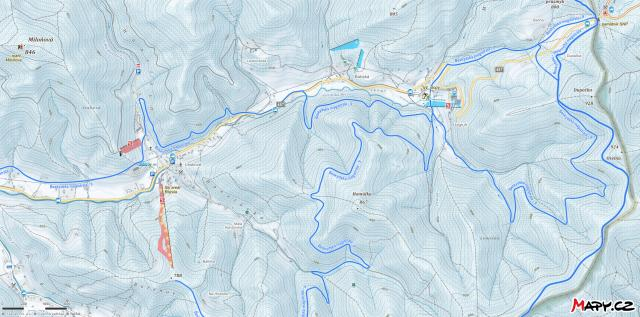 Razula Piste Map