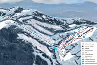 Ski Park Gruň Mapa zjazdoviek