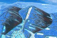 Ski Zlaté Hory - Příčná Løypekart