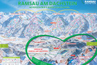 Ramsau am Dachstein Piste Map