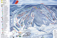 Romme Alpin Piste Map