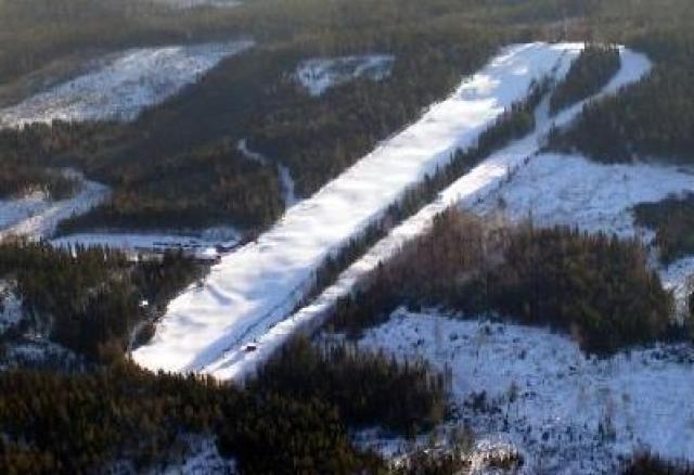 Svärdsjöliften Mappa piste