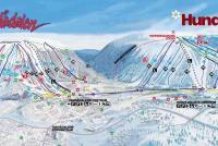 Tandådalen / Hundfjället Trail Map