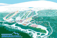 Hummelfjell Mapa zjazdoviek