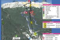 Febbio Piste Map
