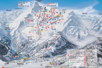 Kitzsteinhorn - Kaprun Trail Map