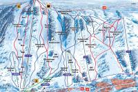 Paljakka Piste Map