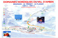 Bramans Piste Map