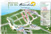 Brameloup Piste Map