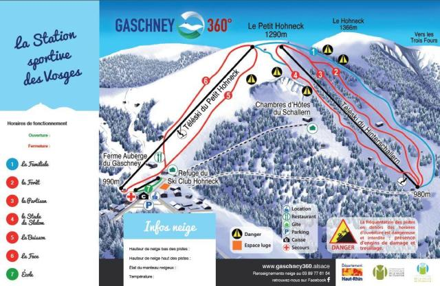 Le Gaschney Trail Map