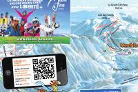 Menthières Mapa zjazdoviek