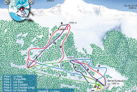Serre Eyraud Trail Map