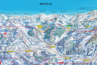 Gstaad Mountain Rides Trail Map