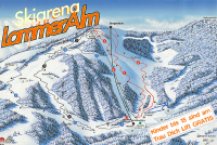 Skiarena Lammeralm Trail Map