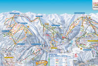 Zillertal Arena Trail Map
