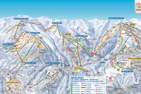 Zillertal Arena Mappa piste