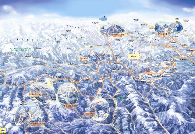 Frauenalpe Piste Map