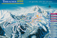 Turracher Höhe Piste Map