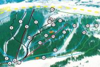 Pomerelle Mountain Resort Piste Map