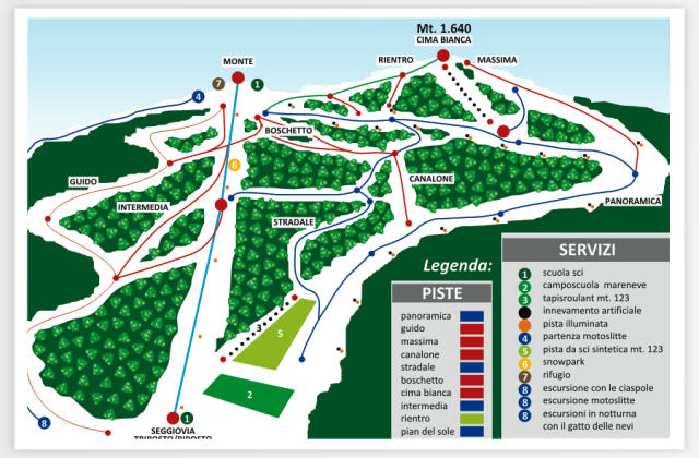 Villaggio Palumbo - Sila Trail Map