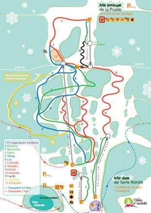 Mapa tras