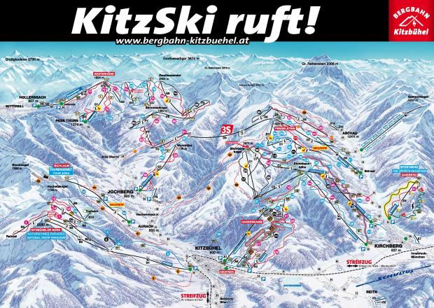 Kitzbühel Trail Map