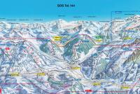 Gstaad - Glacier 3000 Trail Map