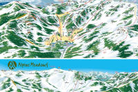 Alpine Meadows Piste Map