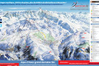 Alpe d'Huez Trail Map