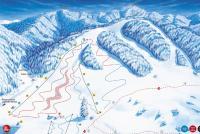 Pavčina Lehota - Žiarce Mapa tras