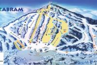 Mt. Abram Ski Resort Mapa tras