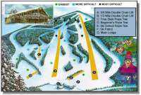 Bousquet Ski Area Piste Map