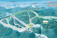 Ventron Trail Map