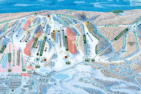 Boyne Highlands Plan des pistes