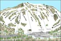 Marquette Mountain Piste Map