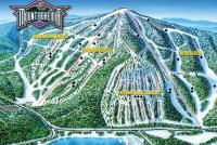 Mount Bohemia Mapa zjazdoviek