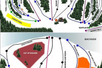Buena Vista Ski Area Trail Map