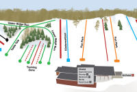 Hyland Ski & Snowboard Area Trail Map