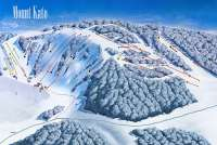 Mount Kato Ski Area Piste Map