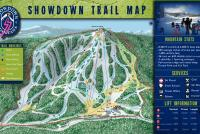 Showdown Montana Mappa piste