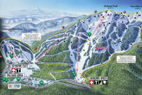 Mt. Hood Ski Bowl Piste Map