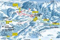 Kötschach - Mauthen Plan des pistes